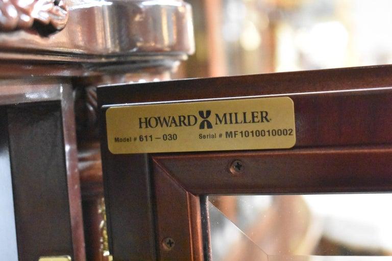 J.H. Miller Grandfather Floor Clock Limited Edition Howard Miller 611-030 T For Sale 4