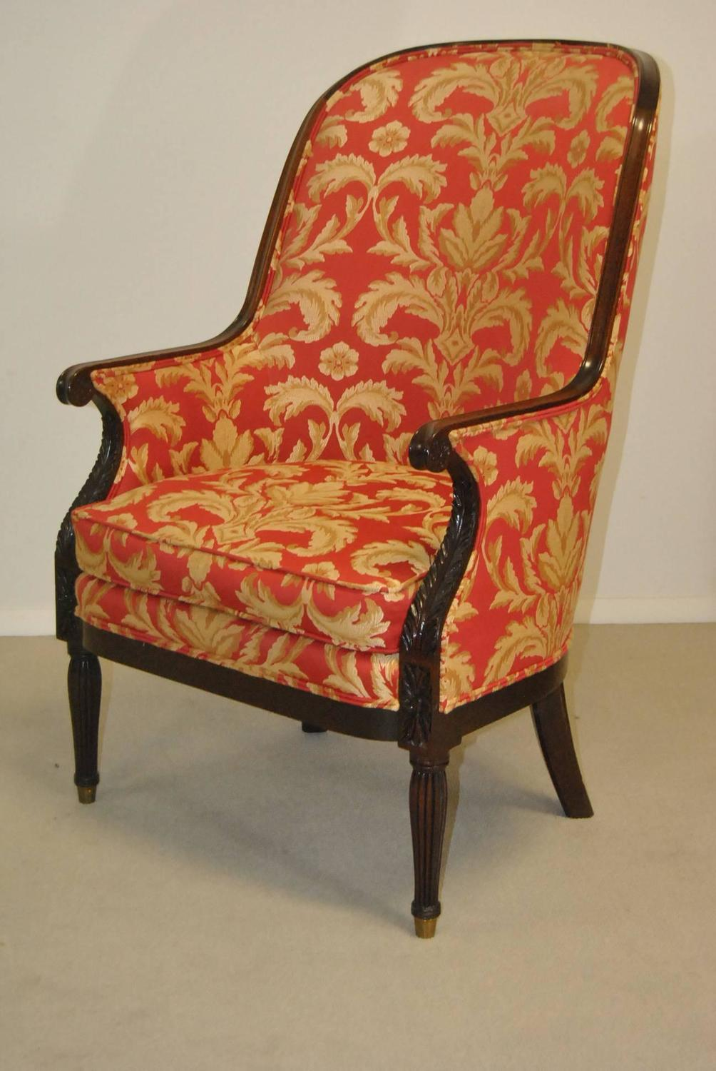 Pair of kindel winterthur collection philadelphia bergere for Z furniture philadelphia
