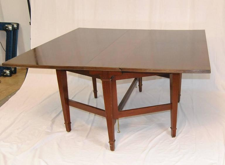 An Unusual 25 Ft Mahogany Conference Table By Irving U0026amp; Casson / A. H.  Davenport Company