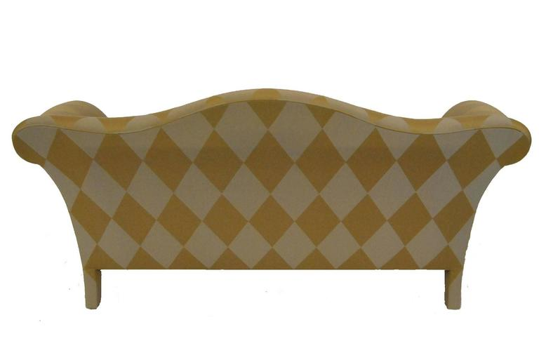 20th Century Camelback Settee By Donghia For Sale At 1stdibs