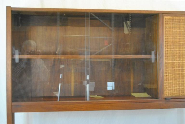 modern china cabinet plans mid century danish rosewood cane door fronts cabinets and hutches sale