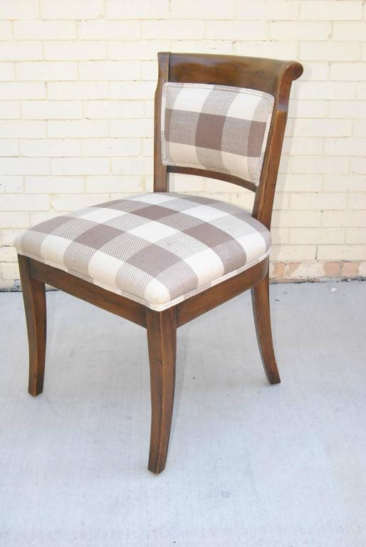 Country french kettering round table and six dudley side for Furniture kettering