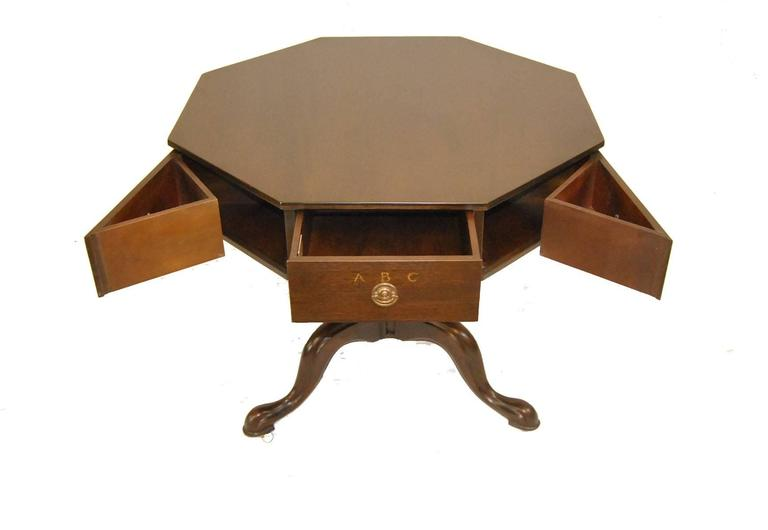 Jefferson Mahogany Rent Table #2126-EX by Kittinger In Good Condition In Toledo, OH
