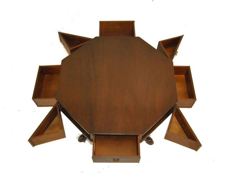 20th Century Jefferson Mahogany Rent Table #2126-EX by Kittinger