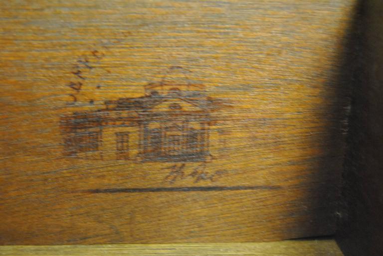 Jefferson Mahogany Rent Table #2126-EX by Kittinger 3