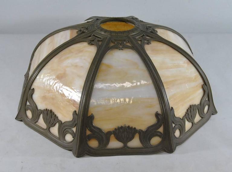 Signed Miller Art Nouveau Eight Panel