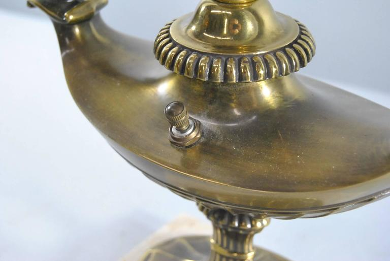 Vintage Aladdin Genie Style Bouillotte Lamp By Stiffell At