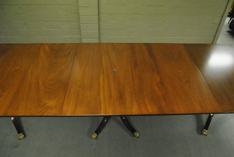 Th Century Style Mahogany Conference Table By Kittinger Feet - 12 foot conference table