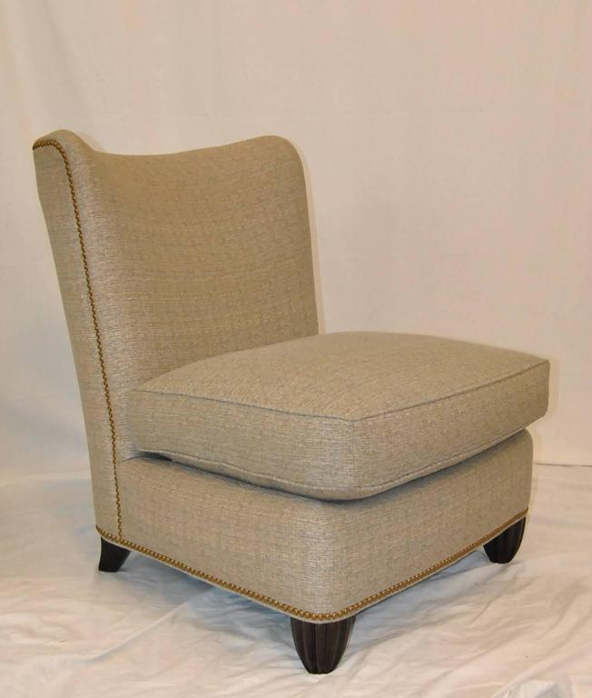 Armless Lounge Chair Designed By Barbara Barry For Baker