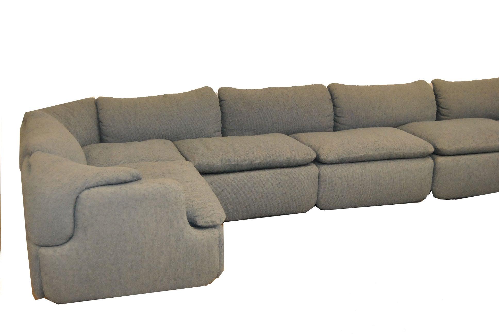 Confidential Sectional Sofa By Alberto Rosselli For Saporiti Italia For
