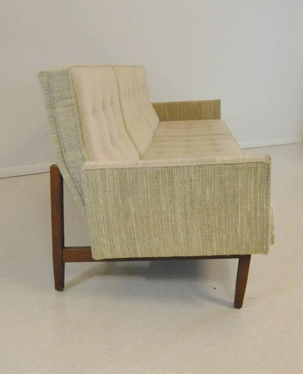 20th Century Early Florence Knoll Walnut