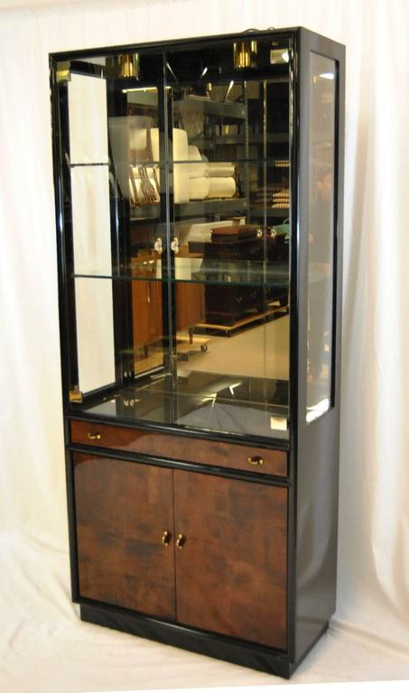 Delicieux A Beautiful Display Cabinet By Henredon As Part Of Their Scene Three. The  Cabinet Is