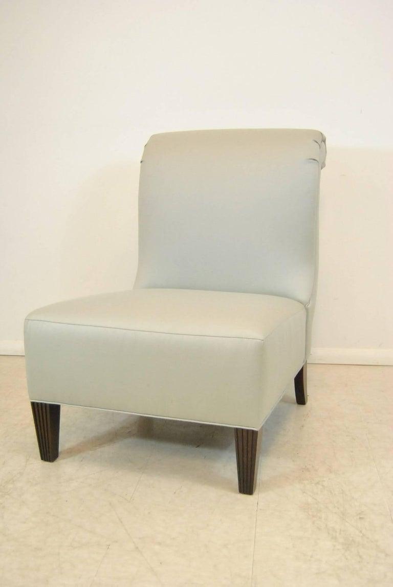 Barbara Barry For Baker Furniture Rollback Slipper Chair