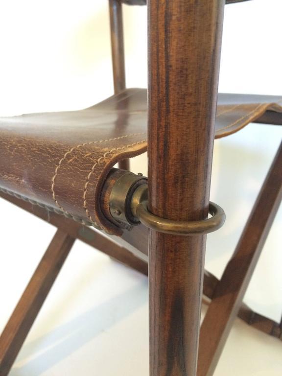 Early Mogens Koch Mk 16 Safari Chair At 1stdibs