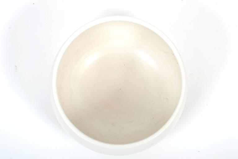 Architectural Pottery White Glazed Attributed to John Follis In Good Condition For Sale In Pittsburgh, PA