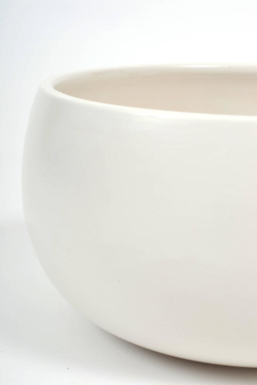 American Architectural Pottery White Glazed Attributed to John Follis For Sale