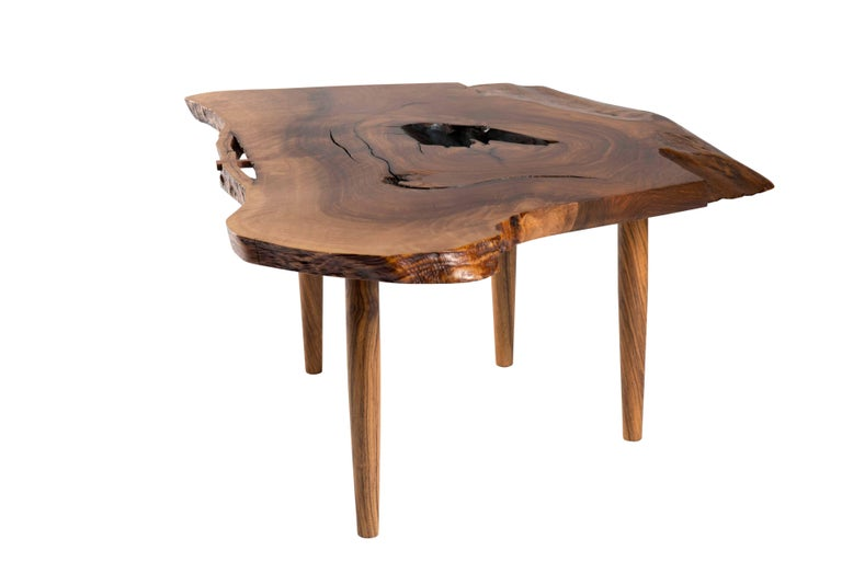 Organic Modern George Nakashima Coffee/Side Table, 1960s For Sale