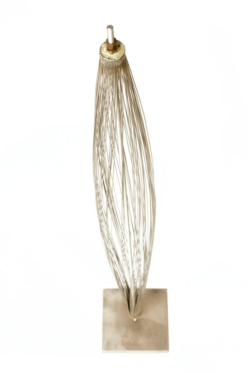 "Important 1950s Harry Bertoia ""Design of Wire Form"" Pod Sculpture 6"