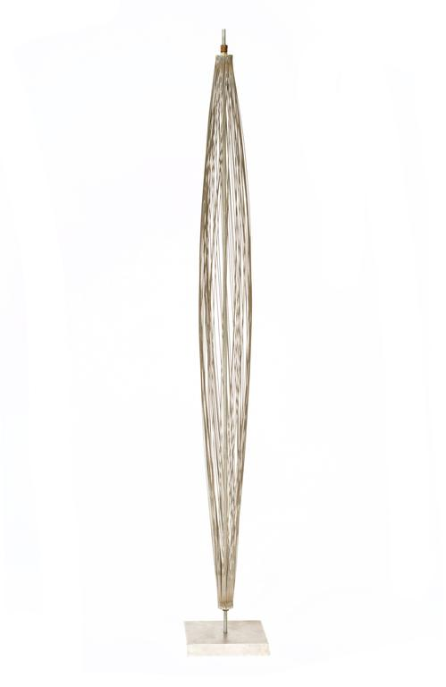 "Important 1950s Harry Bertoia ""Design of Wire Form"" Pod Sculpture 3"