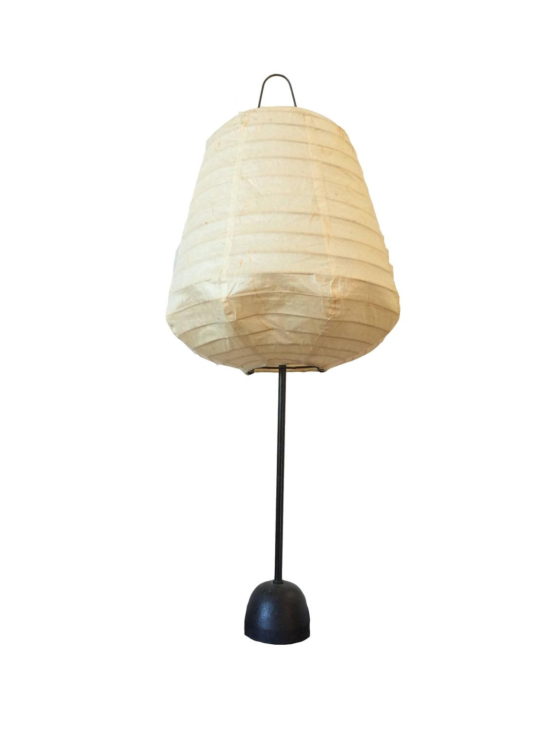 isamu noguchi akari style lamp for sale at 1stdibs. Black Bedroom Furniture Sets. Home Design Ideas