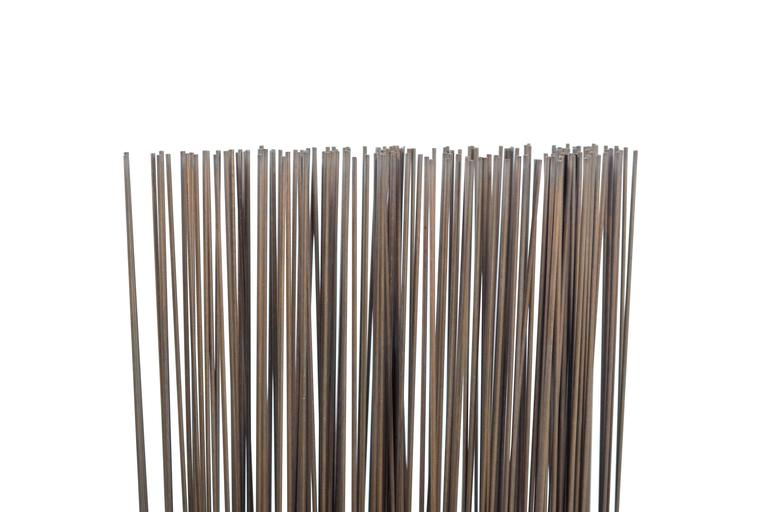 Mid-Century Modern Bertoia Studio Sonambient Sculpture Featuring 176 Harry Bertoia Rods For Sale