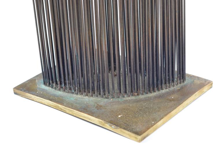 Bertoia Studio Sonambient Sculpture Featuring 176 Harry Bertoia Rods For Sale 2