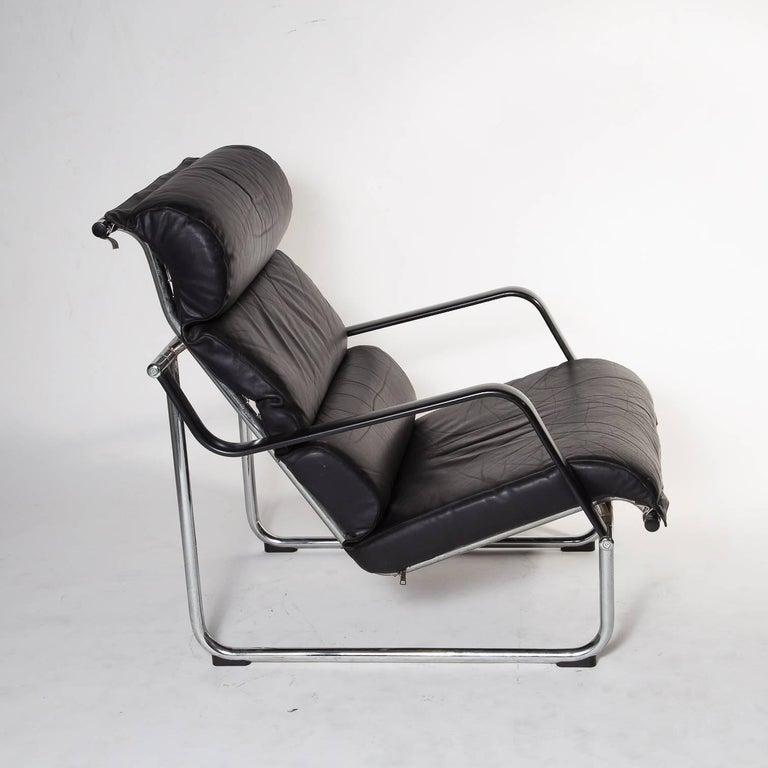 set of two remmi lounge chairs by juri yrj kukkapuro. Black Bedroom Furniture Sets. Home Design Ideas