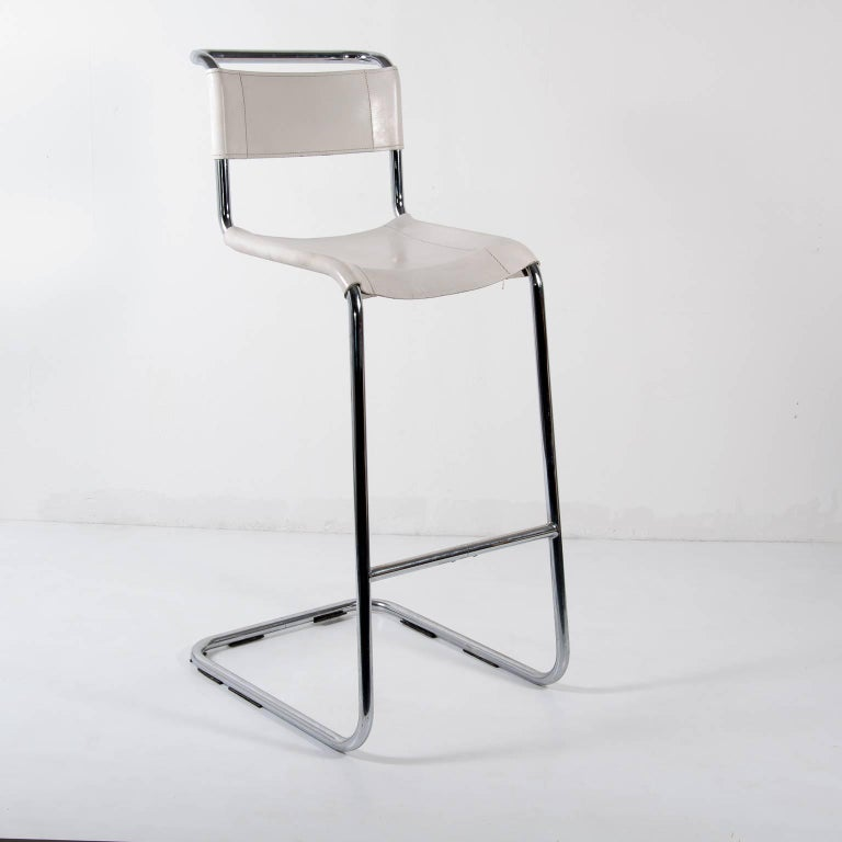 pair of s33h thonet bar stool designed by mart stam at 1stdibs. Black Bedroom Furniture Sets. Home Design Ideas