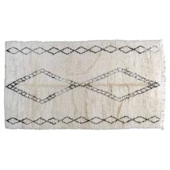 Moroccan Runner with Diamond Pattern