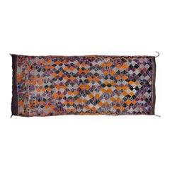 Purple Orange Moroccan Rug