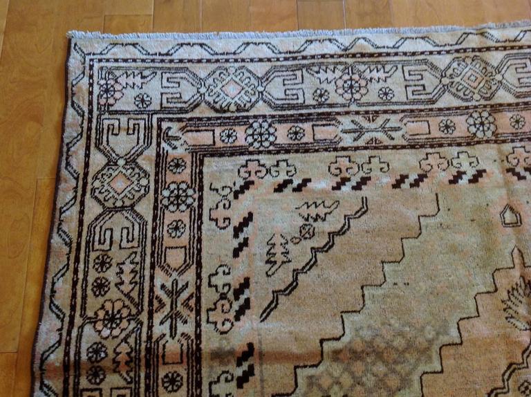 Vintage Samarkand rug  Measures: 6'10