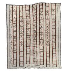 Lavender Khotan Rug With Pomegranate Design For Sale At