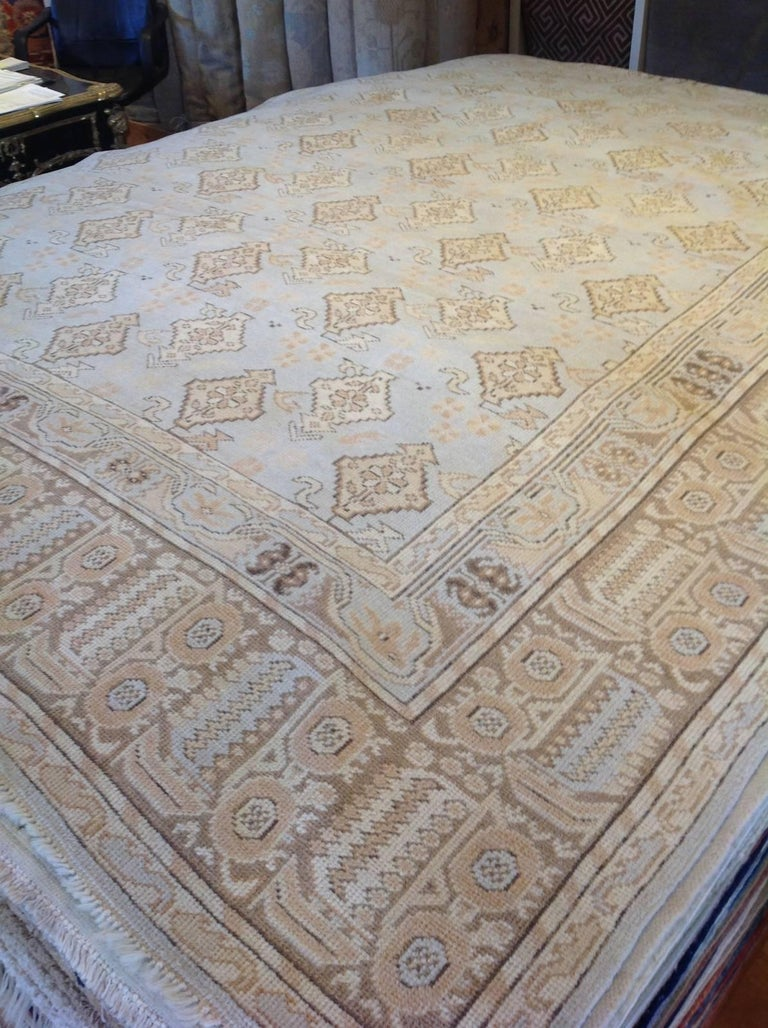 Romanian Transitional Euro Design Rug For Sale