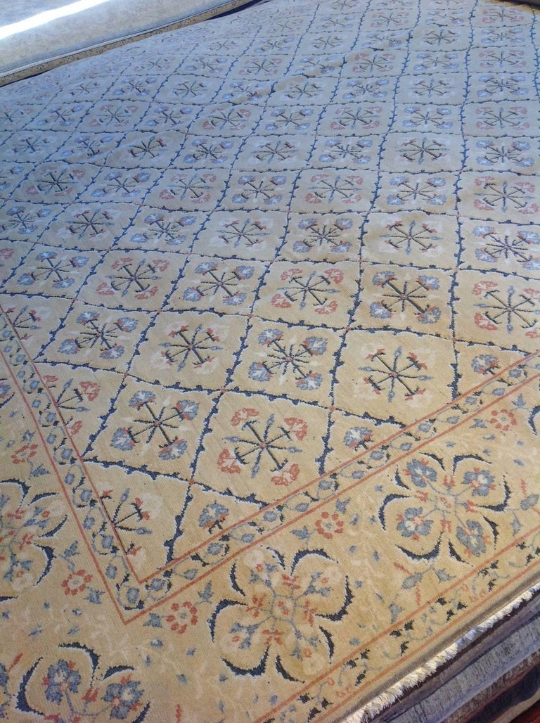 French Design Country Rug For Sale At 1stdibs