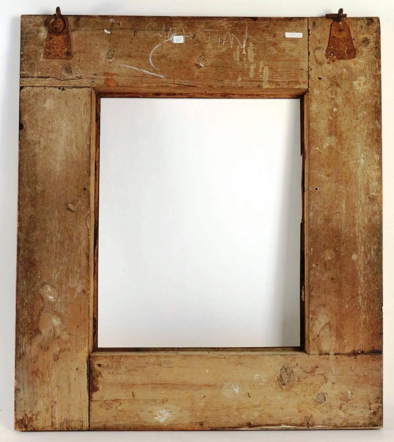 Extraordinary 17th Century, Frame Mounted as Mirror, Nutwood Veneer, Spectacular For Sale 2