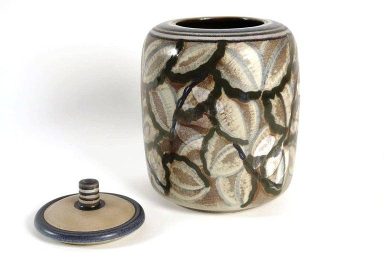Art Deco Manufacture De Sèvres, Large Pot, Shape by Gensoli, Design by André Naudy, 1933 For Sale