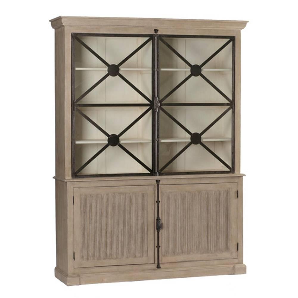 large walden country cabinet with glass doors for sale at 1stdibs