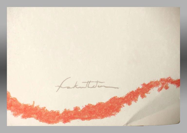 beginning a signed print helen frankenthaler at 1stdibs. Black Bedroom Furniture Sets. Home Design Ideas