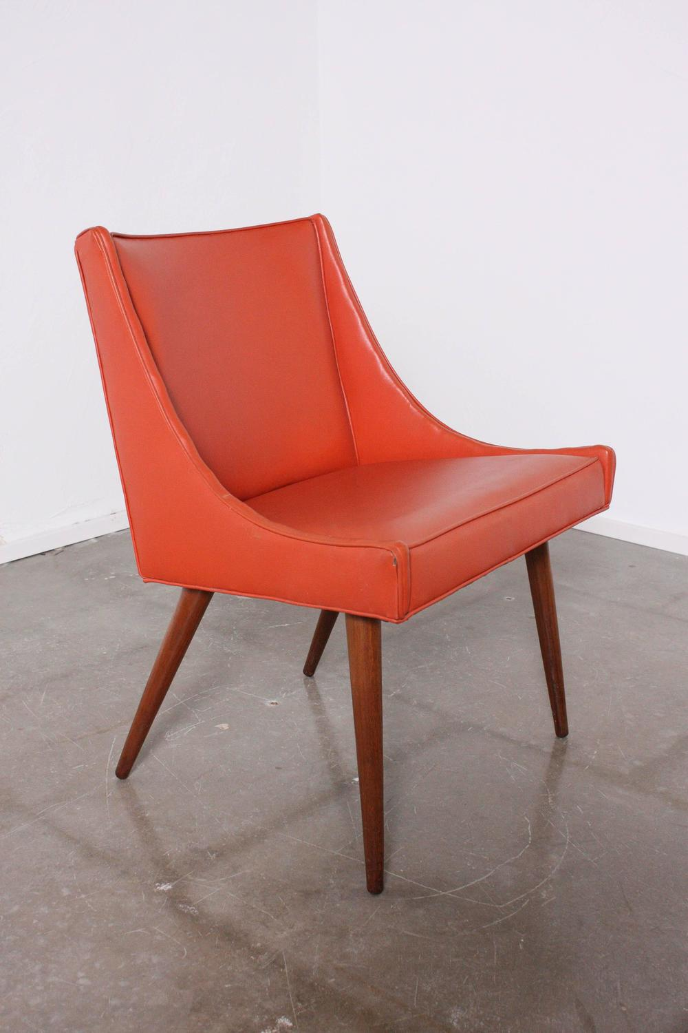 milo baughman slipper chair for sale at 1stdibs