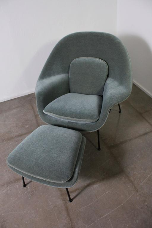 Womb Chair by Eero Saarinen for Knoll Upholstered in Grade I Knoll Mohair 2