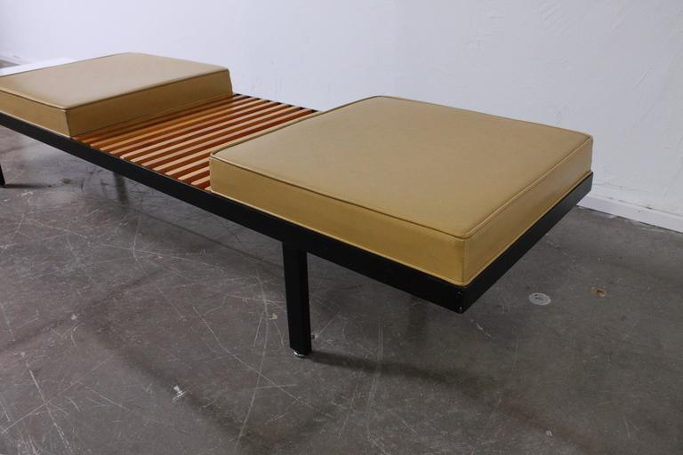 Mid-20th Century Steel Contract Bench by George Nelson for Herman Miller For Sale