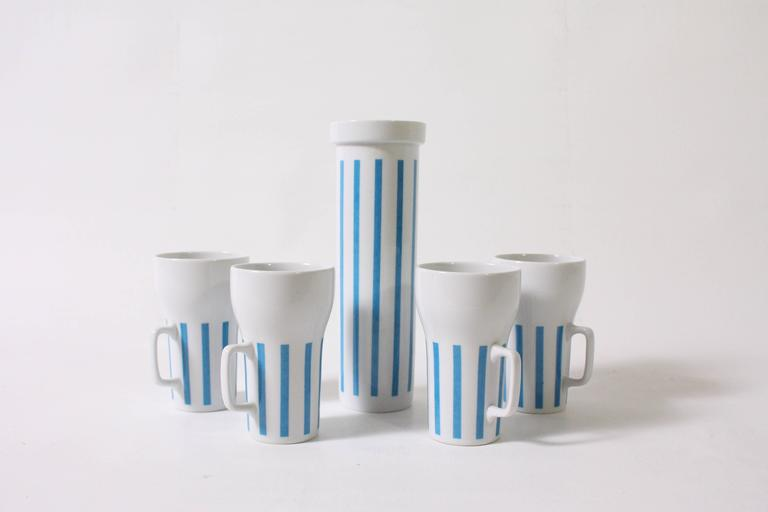 Mid-Century Modern Mugs and Tumbler by Lagardo Tackett For Sale