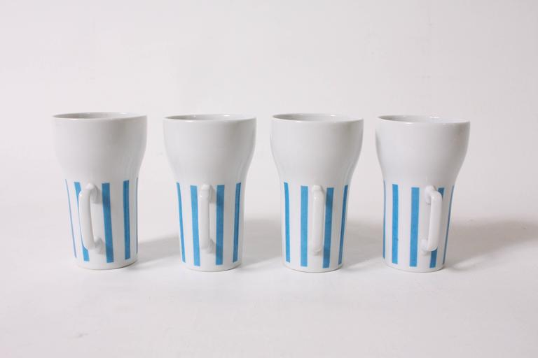 Japanese Mugs and Tumbler by Lagardo Tackett For Sale