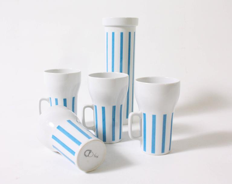 Mid-20th Century Mugs and Tumbler by Lagardo Tackett For Sale