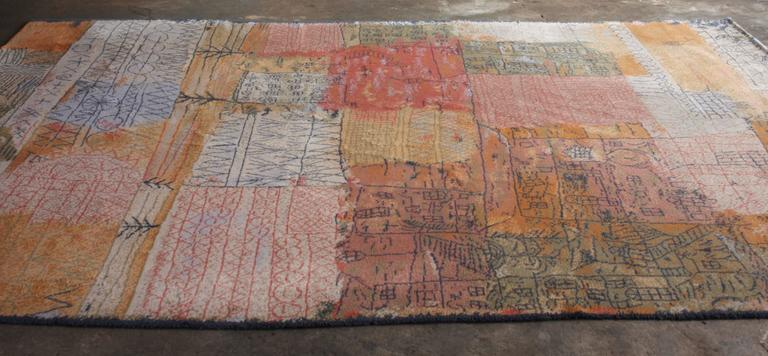Large Rug By Ege Axminster A S Denmark After Paul Klee