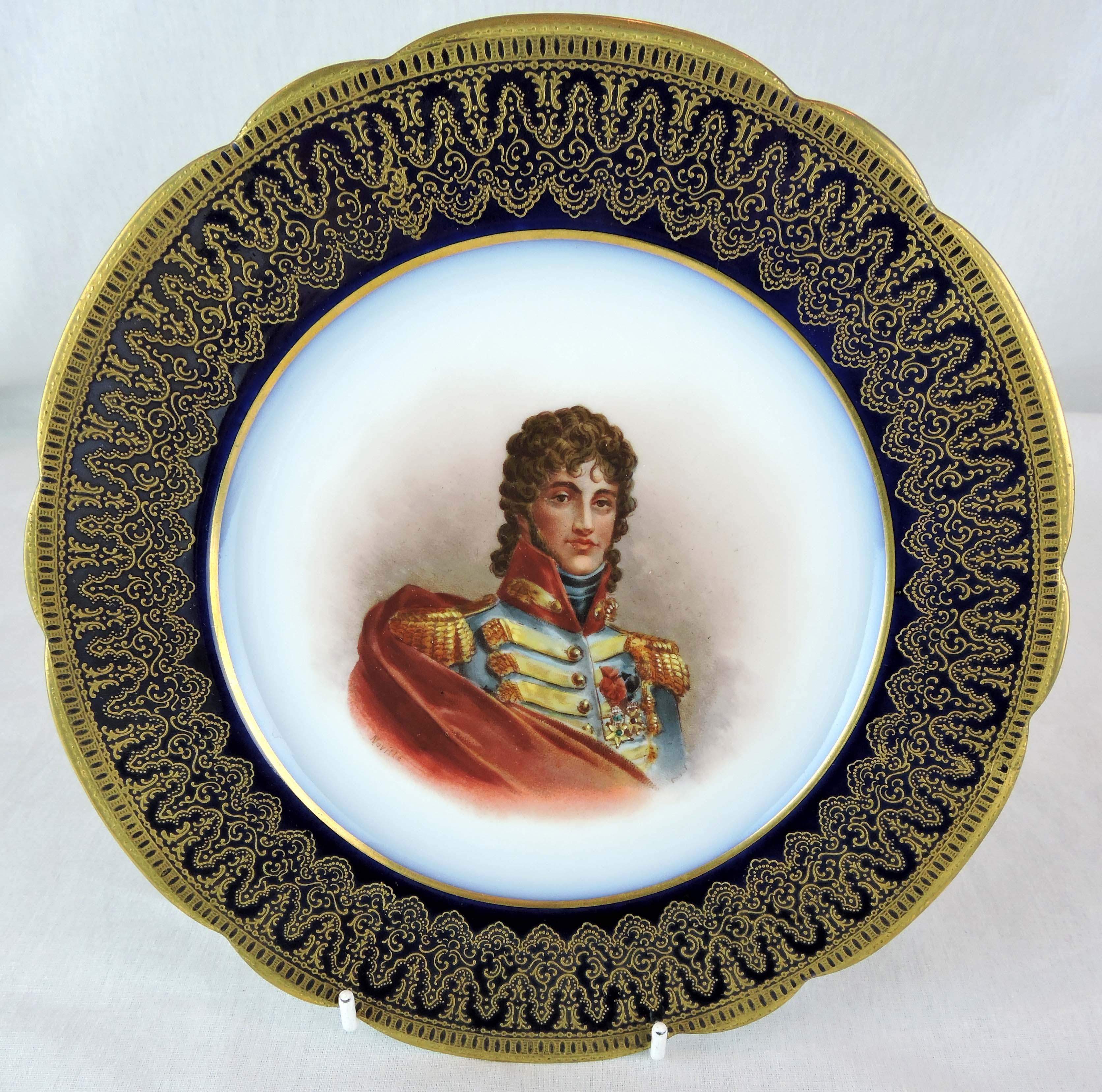 Pair of Napoleon III Sevres Portrait Plates 1860 Mdme Pompadour / Marat For Sale at 1stdibs  sc 1 st  1stDibs & Pair of Napoleon III Sevres Portrait Plates 1860 Mdme Pompadour ...