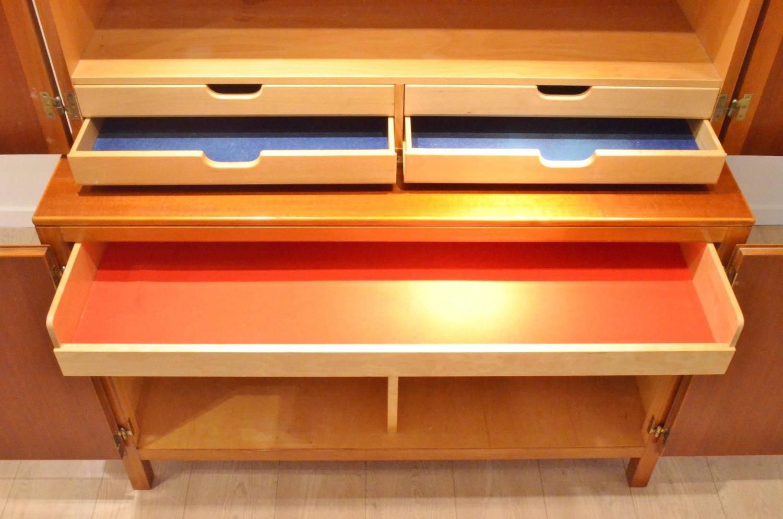 David Ros N Exotic Wood Cabinet By Nordiska Kompaniet 1953 Sweden For Sale At 1stdibs