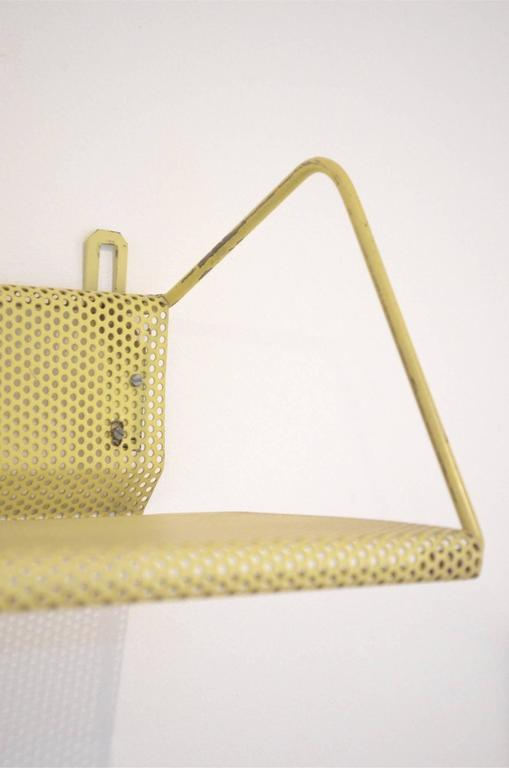 Nine Mid-Century Design Mathieu Matégot Tricolor Metal Bookshelves for Artimeta 6
