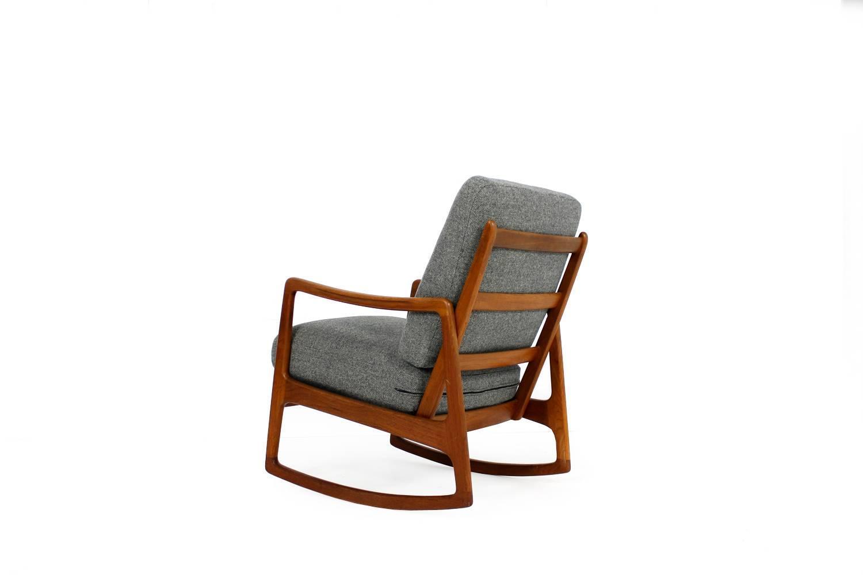 1960s Danish Ole Wanscher Teak Rocking Chair Mod. 109 Rocker Mid ...
