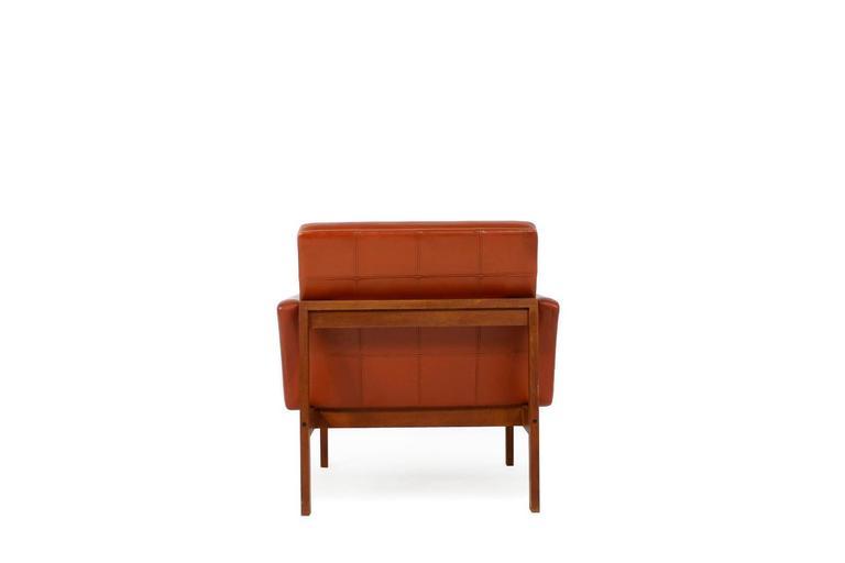Scandinavian Modern 1960s Danish Easy Chair by Ole Gjerlov-Knudsen & Torben Lind for CADO For Sale
